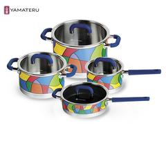 Набор посуды 8 предметов Yamateru Takara S YTASET8S