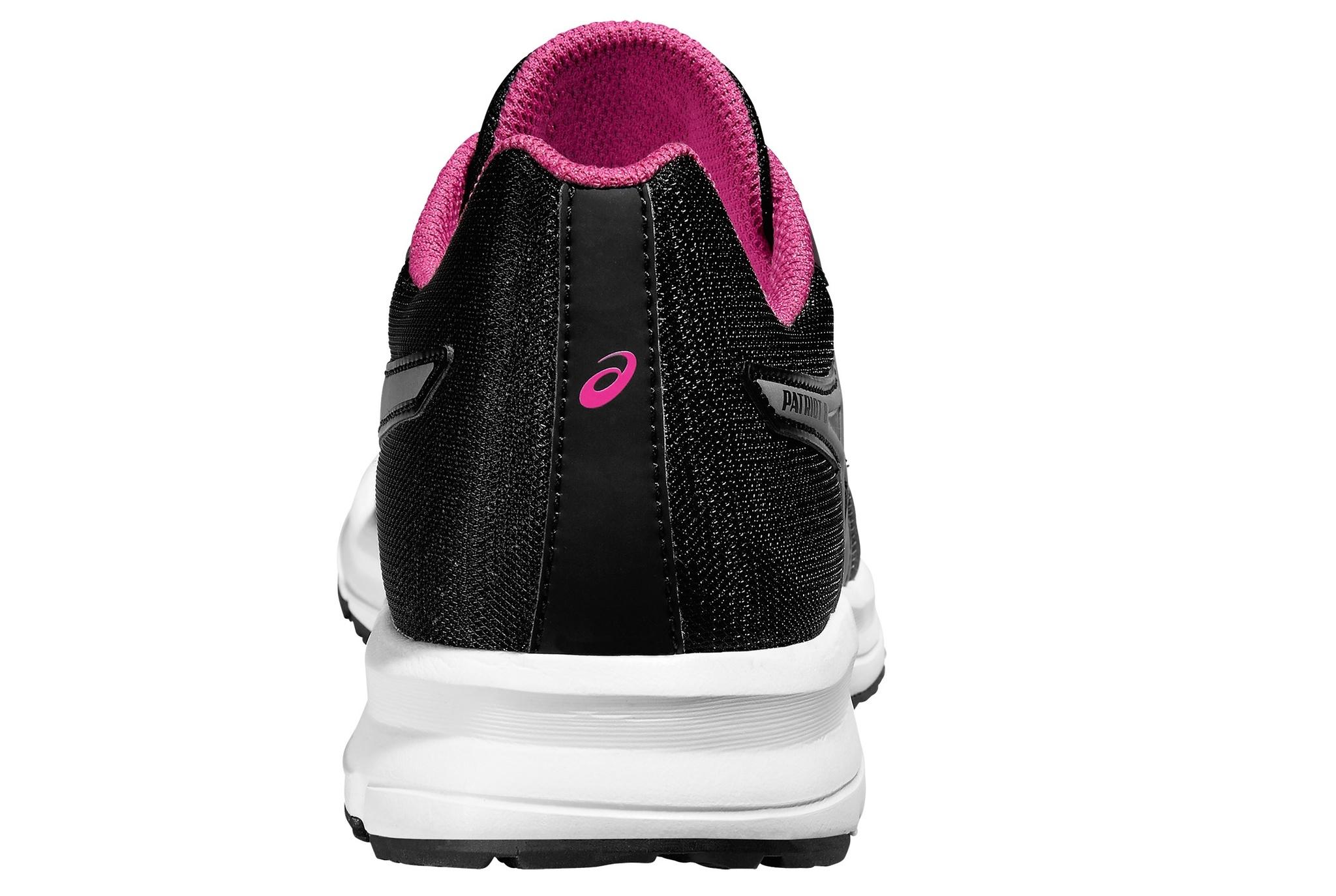 Женские беговые кроссовки Asics Patriot 8 (T669N 9093) черные фото