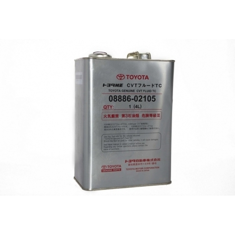TOYOTA CVT TC Жидкость трансмиссионная АКПП вариаторного типа (железо/Япония)