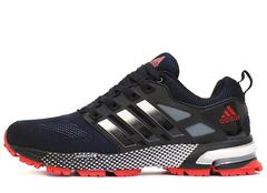 Кроссовки Мужские Adidas Marathon TR 13 Black White Red