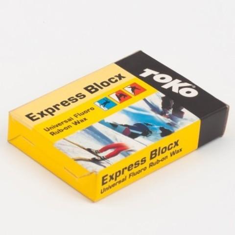 парафин Toko Express Blocx 0°/-30°С, 30 гр.