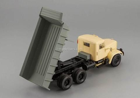 KRAZ-256B1 dump beige-gray 1:43 Nash Avtoprom