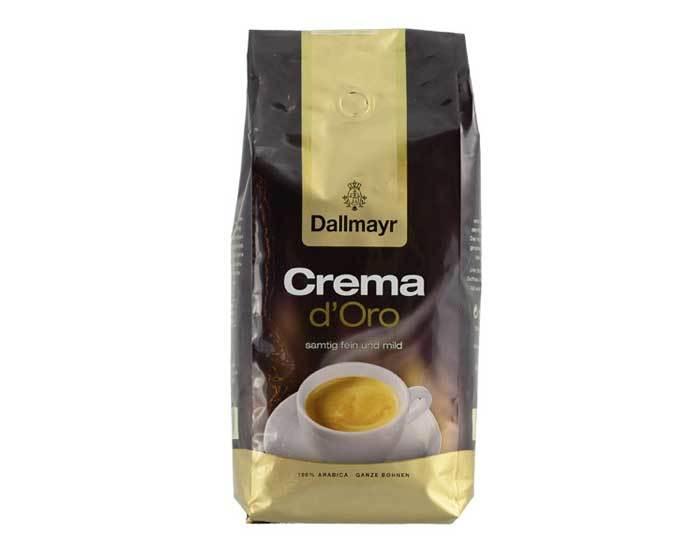 Кофе в зернах Dallmayr Crema d'Oro, 1 кг (Даллмайер)