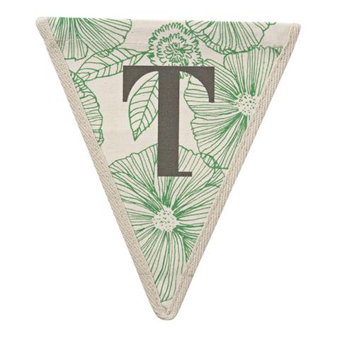 Флажок в цветочек T