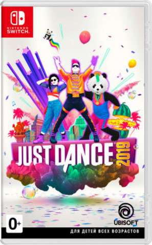 Nintendo Switch Just Dance 2019 (русская версия)
