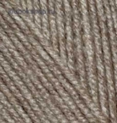 Alize Superlana midi Светло коричневый меланж 240 (5 шт.)