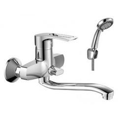 Смеситель для ванны с душевым набором Rossinka T40-34 фото