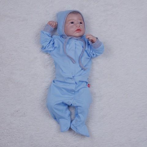 Человечек для новорожденных Mini (голубой)