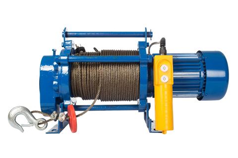 Лебедка TOR ЛЭК-300 E21 (KCD) 300 кг, 220 В с канатом 30 м, шт