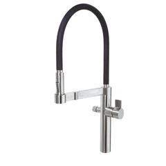 Смеситель для кухни с высоким поворотным изливом и фильтрацией питьевой воды KITCHEN OSMOSIS 388902