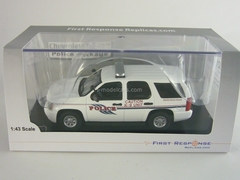 Chevrolet Tahoe Union Pacific Railroad Police K-9 Unit Police (US) First Response 1:43