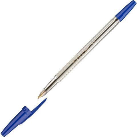 Ручка шариковая неавтоматическая Universal Corvina синяя (толщина линии 0.7 мм)