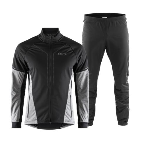 Craft Storm 2.0 мужской лыжный костюм black-grey