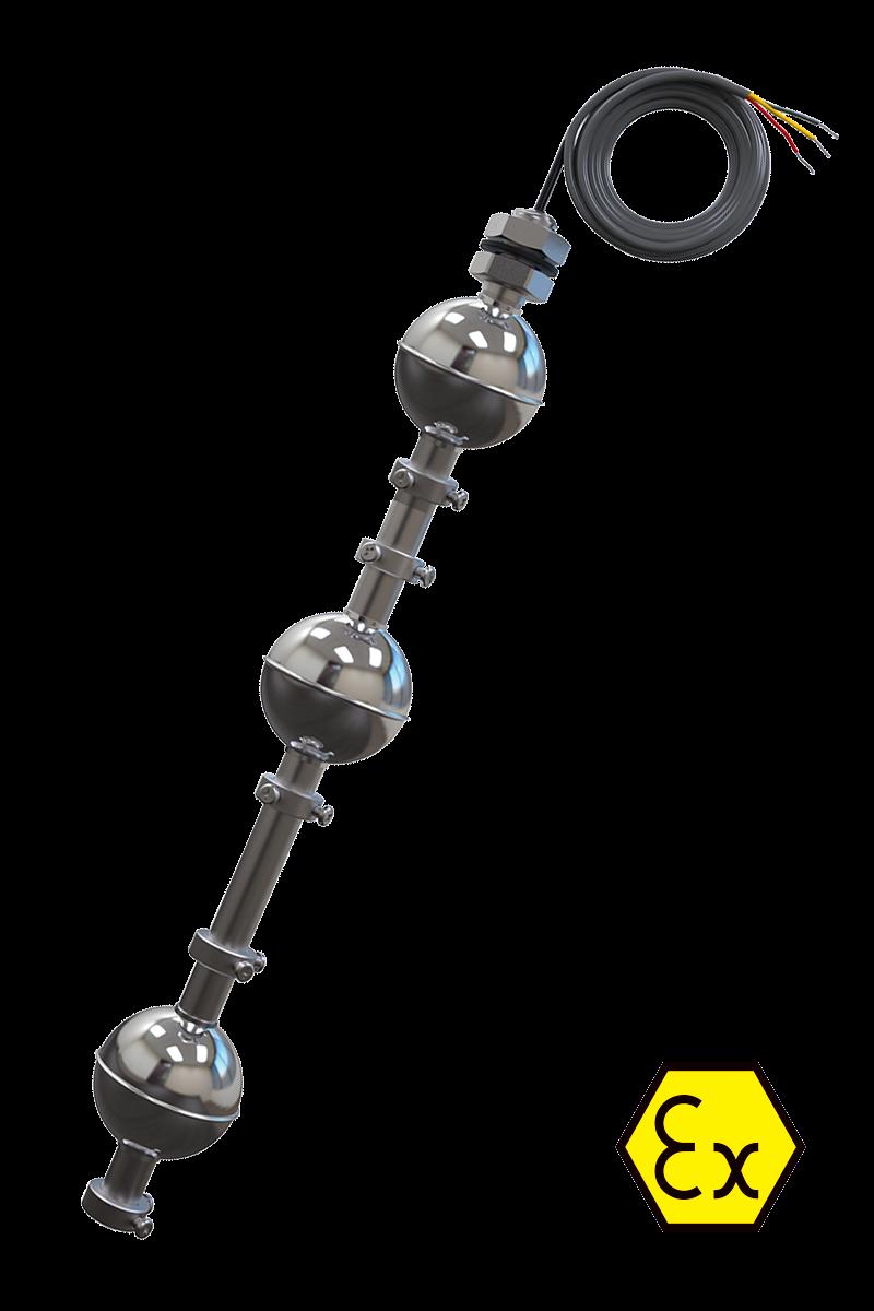 ПДУ-Ex поплавковые датчики уровня во взрывозащищенном исполнении