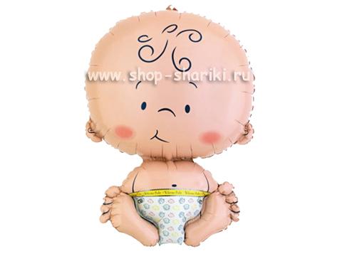 Шарик малыш. Шарик в виде малыша.