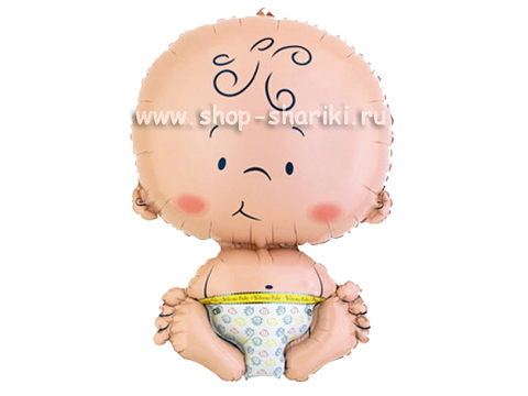 шарик в виде малыша www.shop-shariki.ru