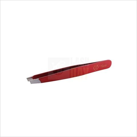 Flario - Пинцет для бровей красный