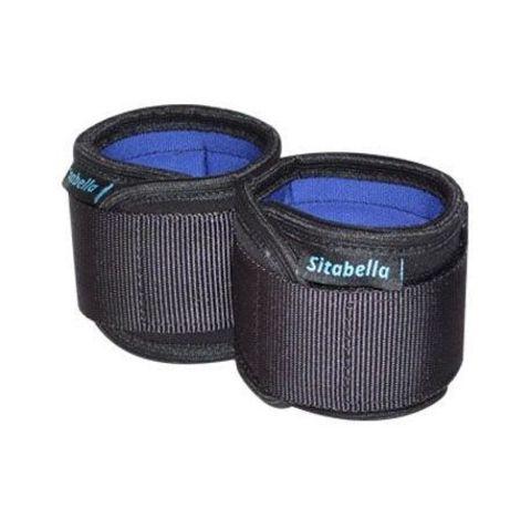 Неопреновые черно-синие наручники