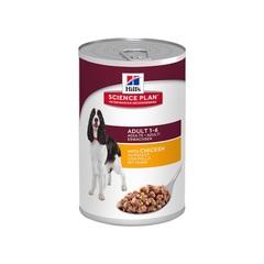 Hill's Science Plan Advanced Fitness консервы с курицей для взрослых умеренно активных собак , 370 г