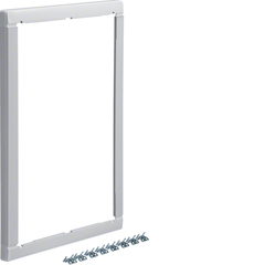 Повышающая наружная рамка без дверцы 25мм, Volta 2-рядный RAL9010