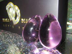 Шарики вагинальные -  стекло фиолетовый