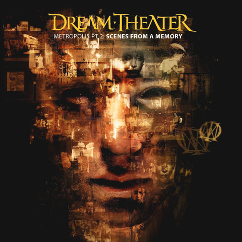 Dream Theater / Metropolis Pt. 2: Scenes From A Memory (CD)