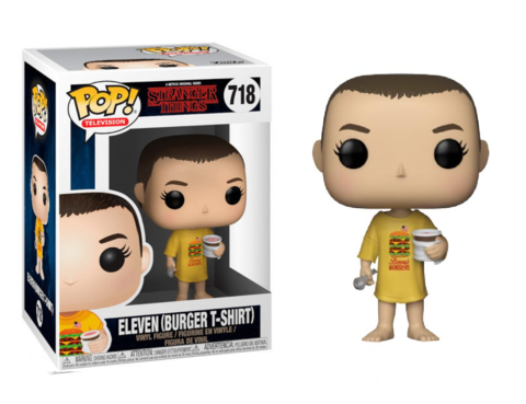 Фигурка Funko POP! Vinyl: Stranger Things: Eleven in Burger Tee  35057