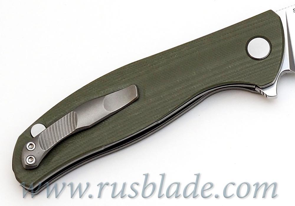 Shirogorov F3 S30V G10 olive w/bearings