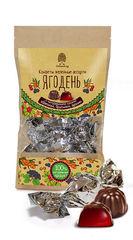Мармелад, Ягодень, в шоколаде, Сибирский кедр,  крафт-пакет, 150 г.