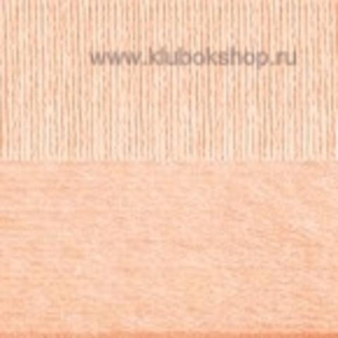 Пряжа Вискоза натуральная Пехорский текстиль Персик 18