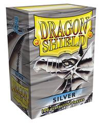Dragon Shield - Серебристые протекторы 100 штук