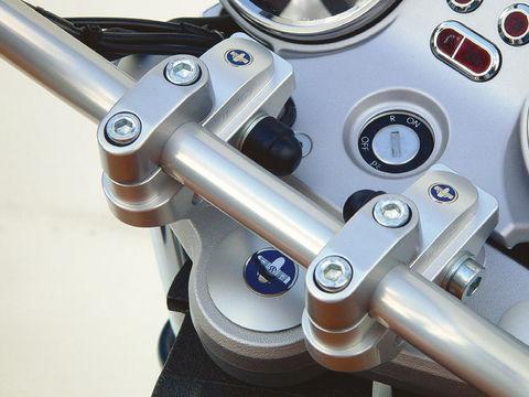 Проставки руля Vario Rise (регулируемые) BMW R1200/1150/800R/1150 R
