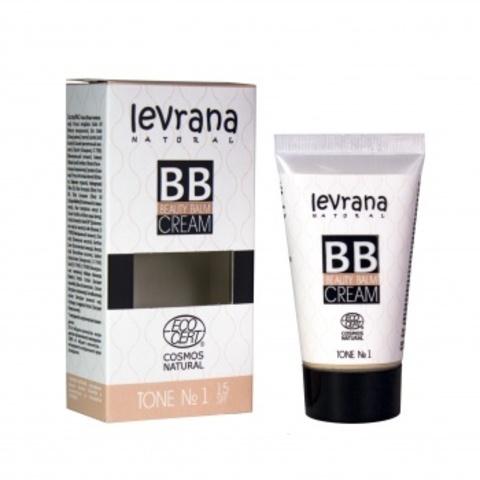 BB крем тон №1, 30мл (Levrana)