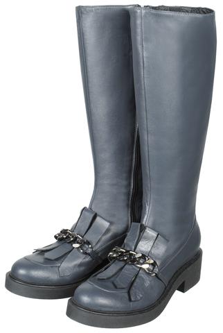 560 grigio сапоги женские Francesco
