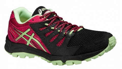 женские кроссовки внедорожники Asics Gel-FujiAttack 4 (T584N 9087) фото