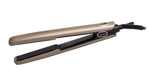 Щипцы - выпрямители для волос Moser 4466-0050 CeraLine бронзовые