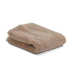 Полотенце 30х30 Tkano Essential коричневое