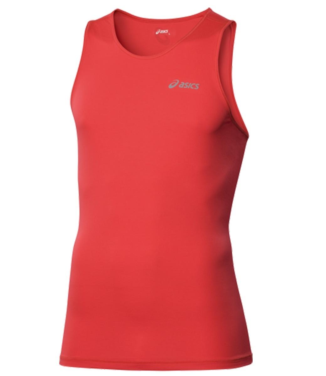 Мужская беговая майка Asics Singlet (110406 0694) красная фото