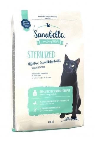 Дефект упаковки Bosch Sanabelle Sterilized сухой беззерновой корм для стерилизованных кошек и кастрированных котов 10 кг