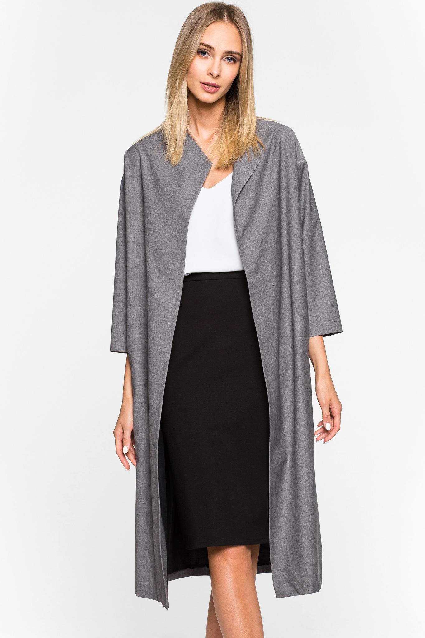 Пальто из тонкой шерсти