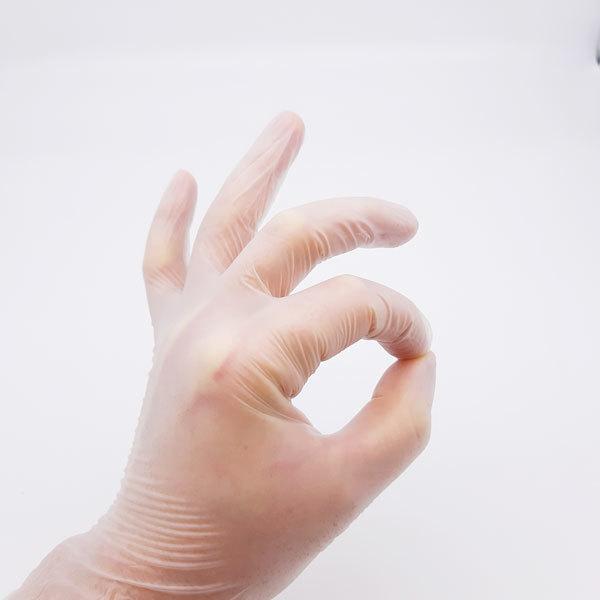 Одноразовые материалы для косметологии Перчатки одноразовые виниловые, прозрачные, 3,5 г. (100 шт/уп) Перчатки-виниловые-прозрачные.jpg