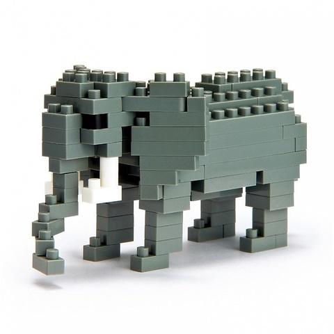 Nanoblock Африканский Слон