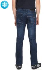 931 джинсы мужские утепленные, синие