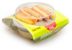 Хумус классический с хлебными палочками, 115г