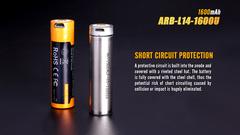 Аккумулятор AA / 14500 LI-ION Fenix 1.5V, 1600mAh + micro USB port