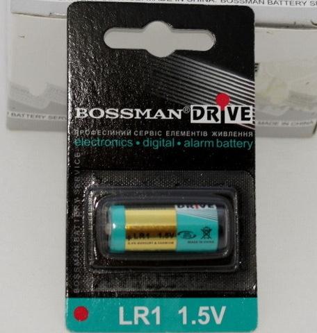 Батарейки Bossman LR1, 1.5V (1/10) BL
