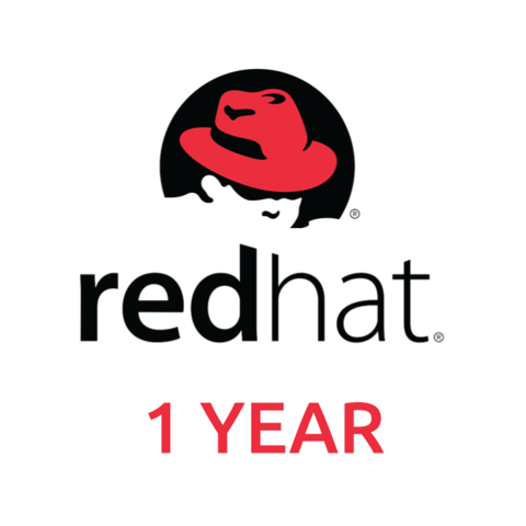 Red Hat Enterprise Linux Server, Standard (Physical or Virtual Nodes) 1-YEAR