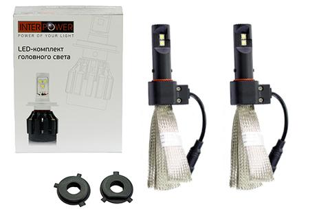 Светодиодные лампы INTERPOWER H4 CREE 5G FLEX 30 W (белый свет)