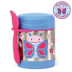 21965e6279de Термос-кружка Skip Hop Zoo Insulated Food Jar - Butterfly (Бабочка) -  Термосы Skip Hop - купить в интернет-магазине Киндерама