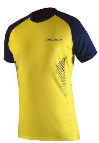 Футболка для бега Noname Pro Running 16 yellow-blue